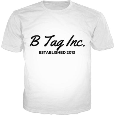 Official B Tag Inc. T-Shirt