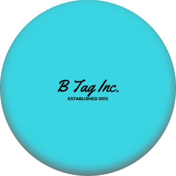 B Tag Inc Classic PopSocket (Light Blue Edition)