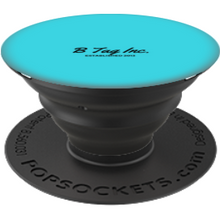 Load image into Gallery viewer, B Tag Inc Classic PopSocket (Light Blue Edition)