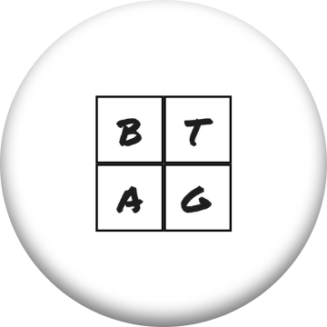 B Tag Inc 4-Square PopSocket