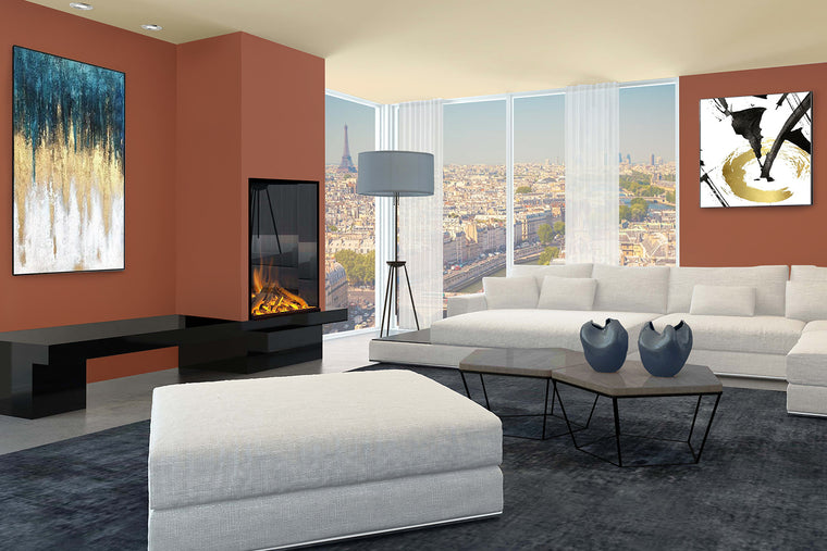 E810: Single-Sided Electric Fireplace
