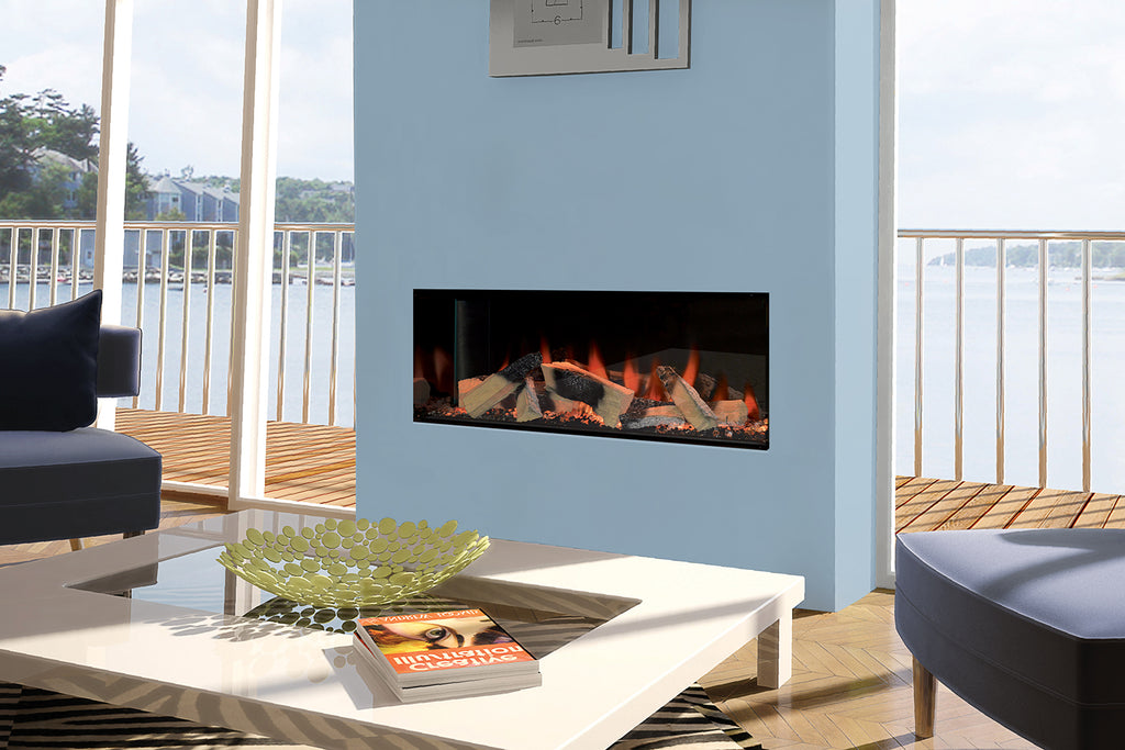 Kiruna Halo: Single-Sided Electric Fireplace