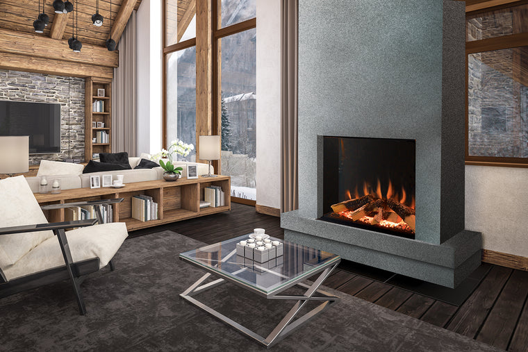 Tyrell Halo: Single-Sided Electric Fireplace