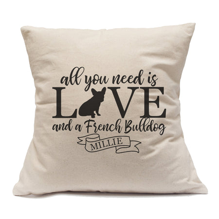 All You Need Is Love And A Yorkshire Terrier - Pillow