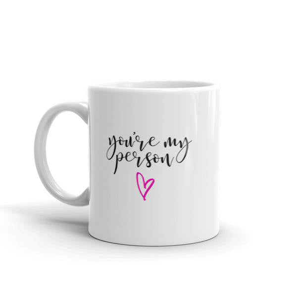 Youre My Person Mug|Youre My Person Cup|Gifts For Bestfriend|Cute Coworker Gift|Gift From Boss|Gift For Surgeon|Therapist Gift|New Job Gift