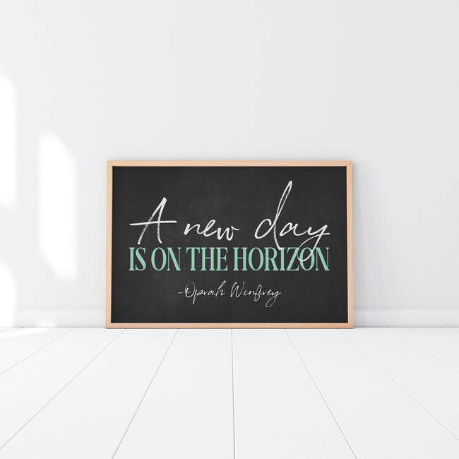 A New Day Is On The Horizon|Feminism Quote|Feminist Quote|Best Feminist Gifts|Womens Rights|Going Away Gift For Her|Feminism Is Cool
