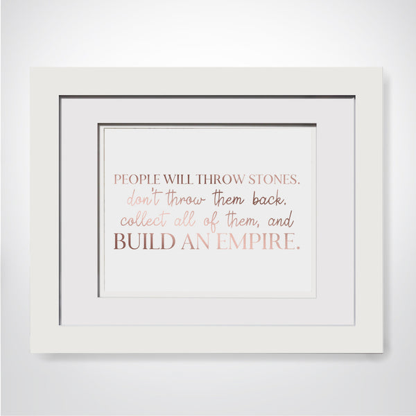 Cubicle Decor For Girl Boss Wall Print