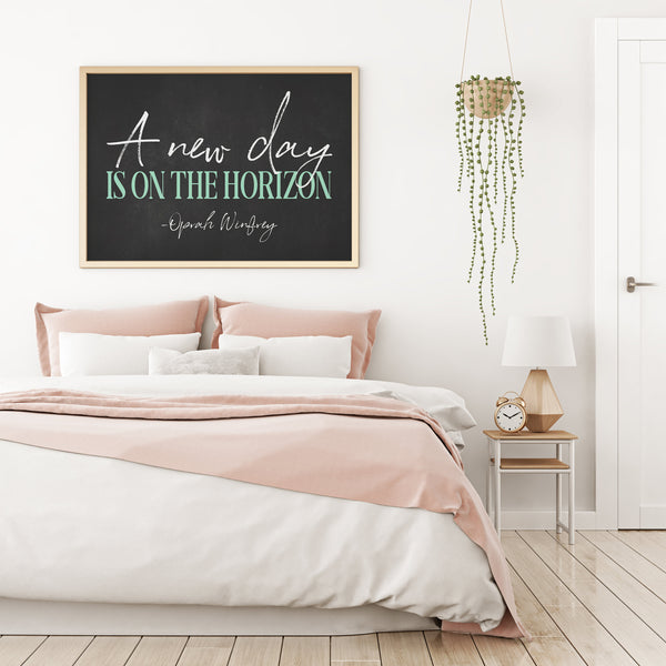 A New Day Is On The Horizon Printable Wall Art