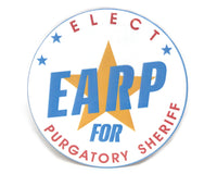 Earp for Purgatory Sheriff Button (Choose Size)