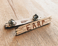 Earp Homestead Sign Wooden Pin