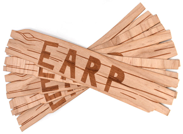 Earp Homestead Sign Wooden Sticker