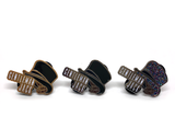 Gentleman Jack Top Hat Enamel Pin