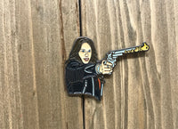 Wynonna Earp w/ Orange Glow Peacemaker Pin