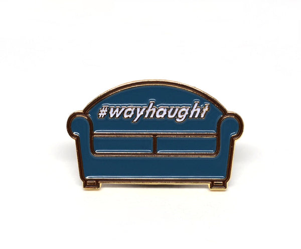 Ship It Wayhaught Couch Pin