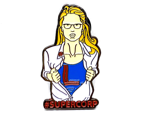 Ship It Supercorp Pin