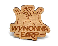 Wynonna Earp Sign Wooden Pin