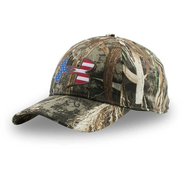 Under Armour Big Flag Logo Camo Hat