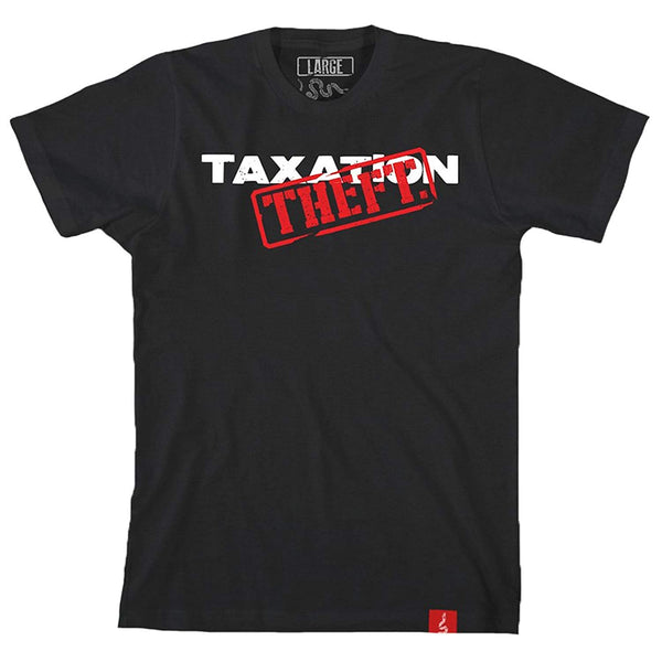 1776 United Taxation is Theft Men's T-Shirt