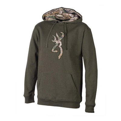 Browning Buckmark Camo Men's Sweatshirt