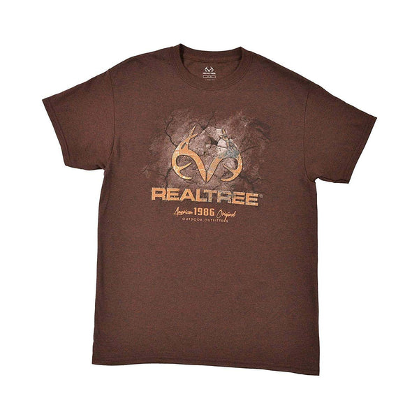 Realtree Cracked Ground Men's T-Shirt