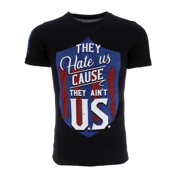 Nine Line They Hate Us Cause They Ain't U.S. Men's T-Shirt