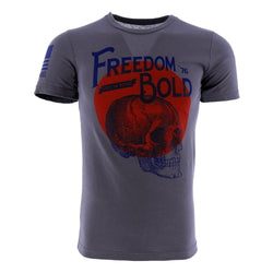 Nine Line Freedom Lies In Being Bold Men's T-Shirt