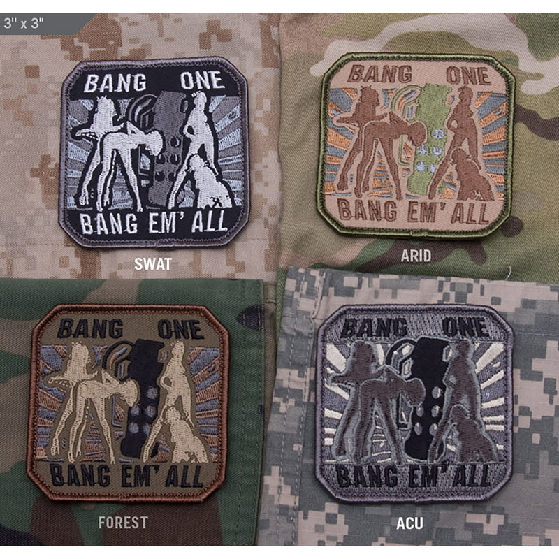 Mil-Spec Bang One Bang Em' All Patch