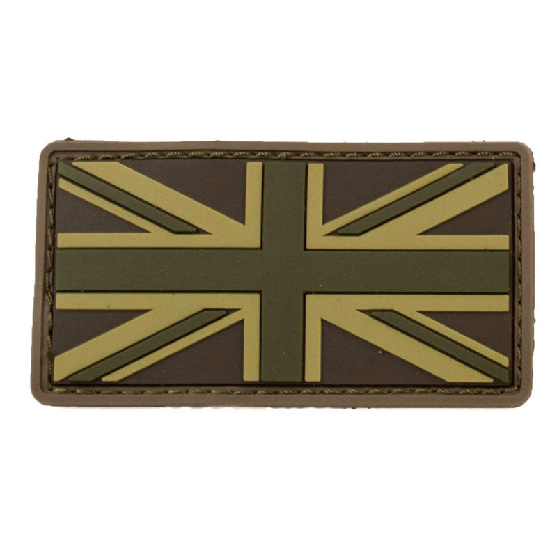 Mil-Spec British Flag PVC Patch