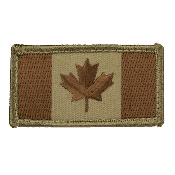 Mil-Spec Canadian Flag Patch