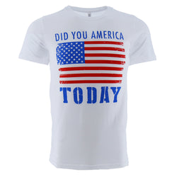 ACAL Did You America Today Men's T-Shirt
