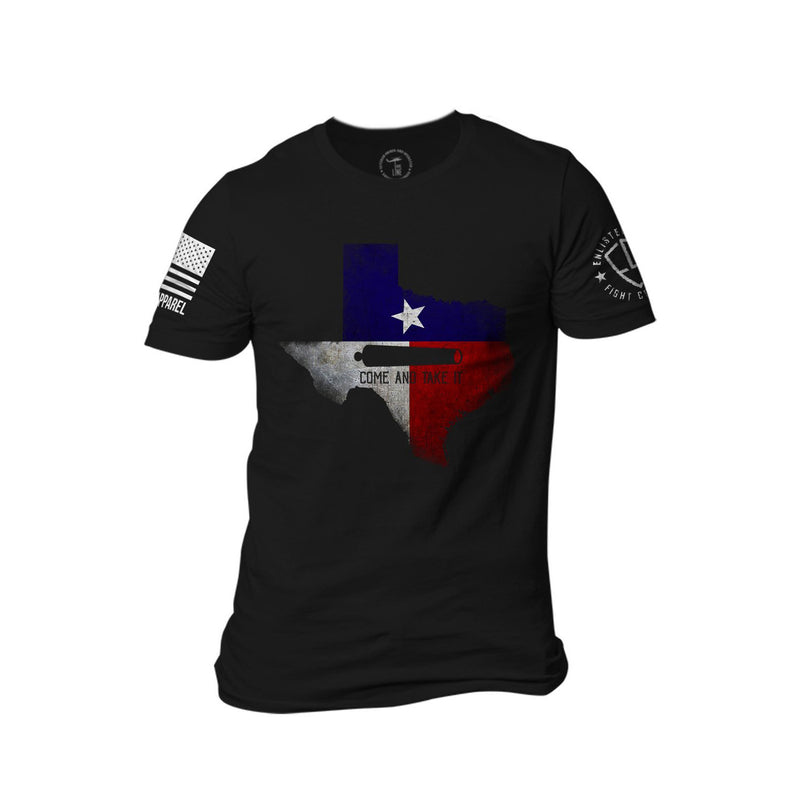 Nine Line Enlisted 9 Texas Come And Take It Men's T-Shirt