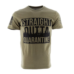 Nine Line Enlisted 9 Straight Outta Quarantine Men's T-Shirt