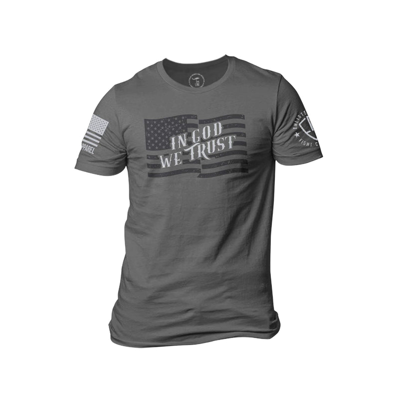 Nine Line Enlisted 9 In God We Trust Men's T-Shirt