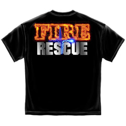 Erazor Bits Fire Rescue Maltese Men's T-Shirt