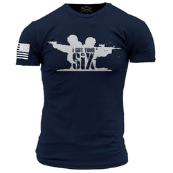 Grunt Style Enlisted 9 Walk Into Hell Men's T-Shirt