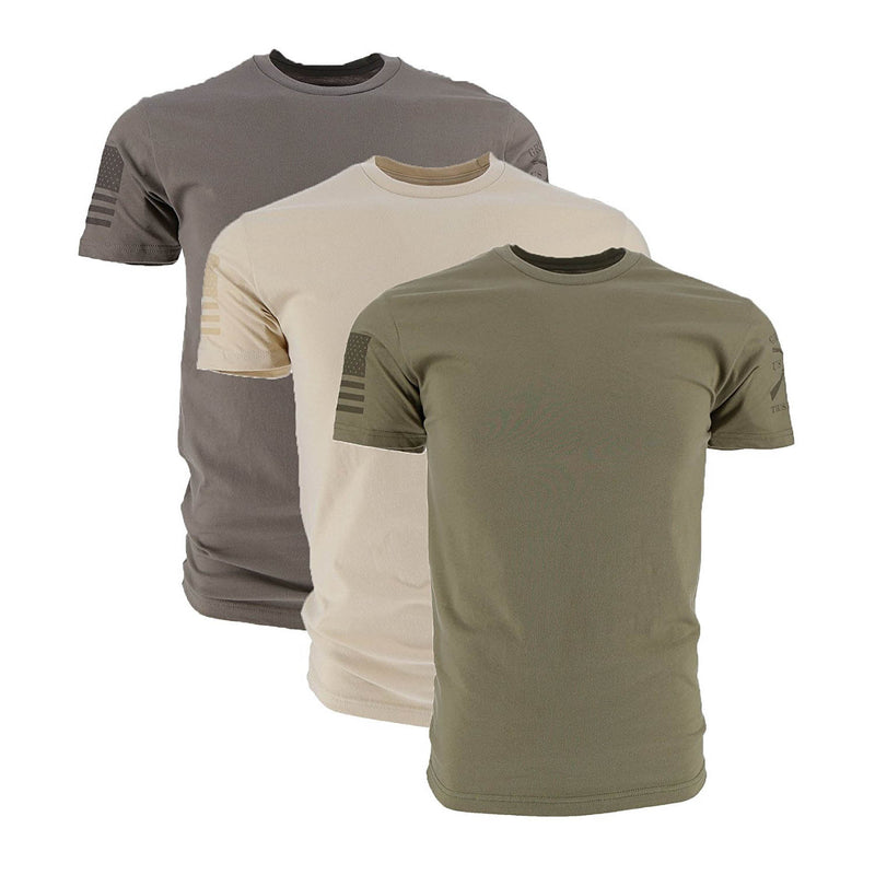 Grunt Style Ghost 3-Pack Men's T-Shirt