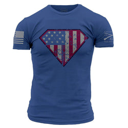 Grunt Style Super Patriot Men's T-Shirt