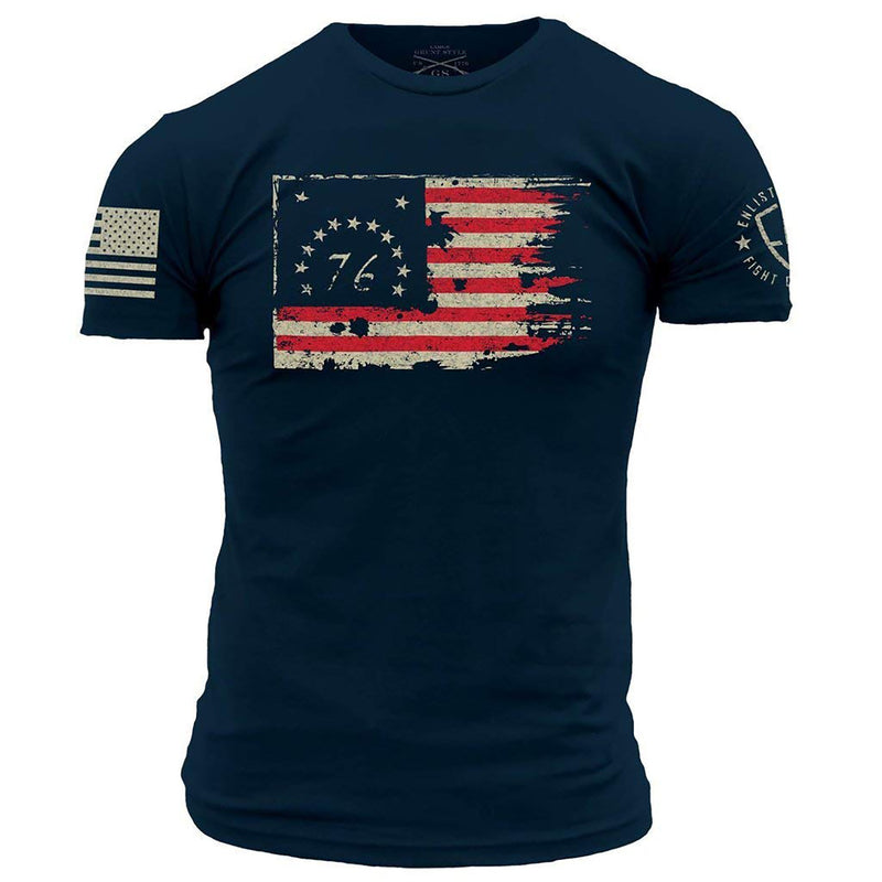 Grunt Style Enlisted 9 1776 Men's T-Shirt