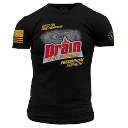 Grunt Style Enlisted 9 Drain Men's T-Shirt