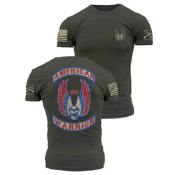 Grunt Style American Warrior Men's T-Shirt