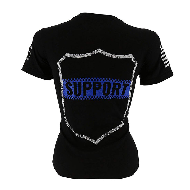 Grunt Style Support Police Women's T-Shirt