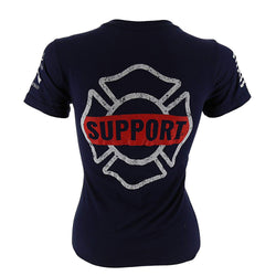 Grunt Style Support Firefighters Women's T-Shirt