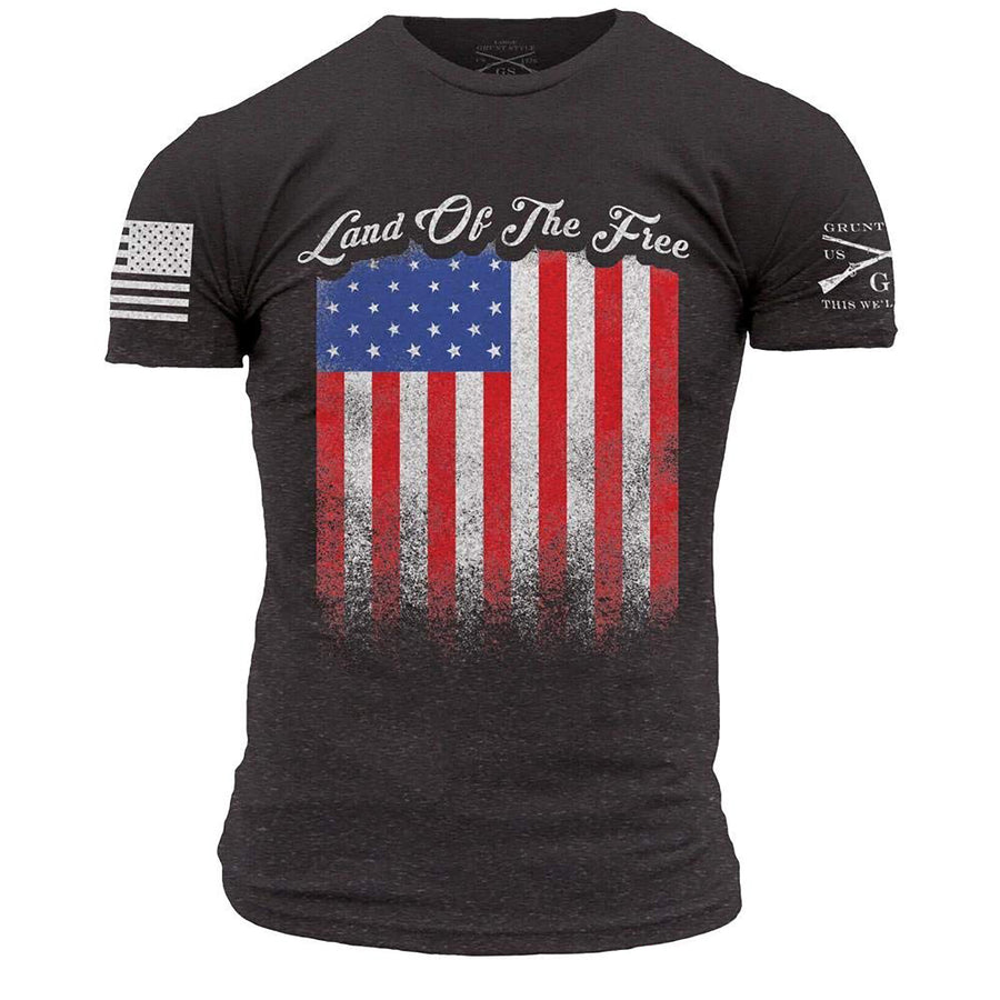 Grunt Style Land Of The Free Men's T-Shirt