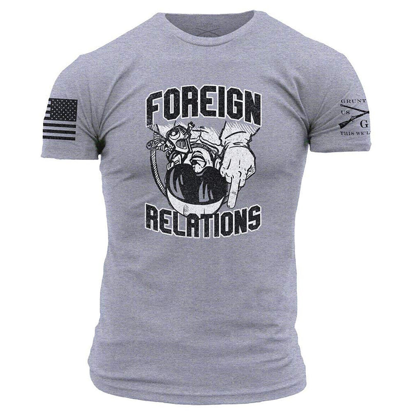 Grunt Style Foreign Relations Men's T-Shirt