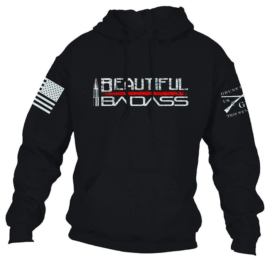 Grunt Style Beautiful Badass 2.0 Women's Hoodie