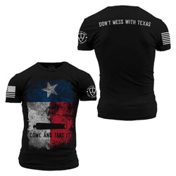 Grunt Style Enlisted 9 Don't Mess With Texas Men's T-Shirt
