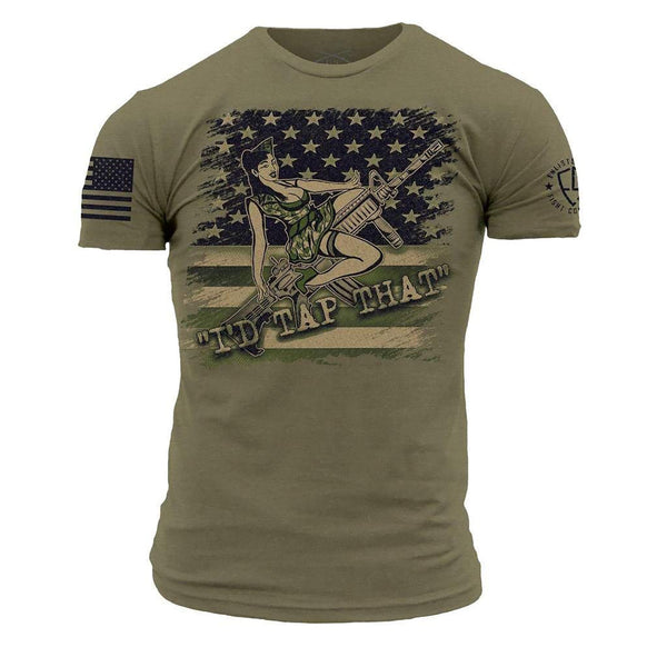 Grunt Style Enlisted 9 Tap That Men's T-Shirt