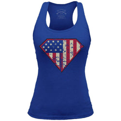 Grunt Style Super Patriot Women's Racerback