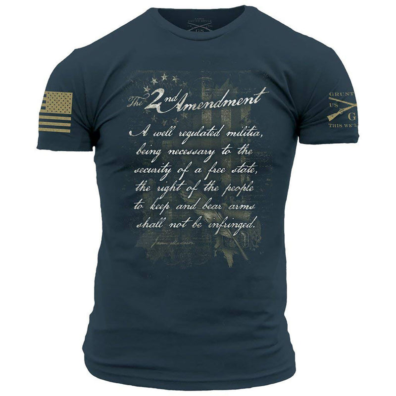 Grunt Style 2nd Amendment (2018) Men's T-Shirt