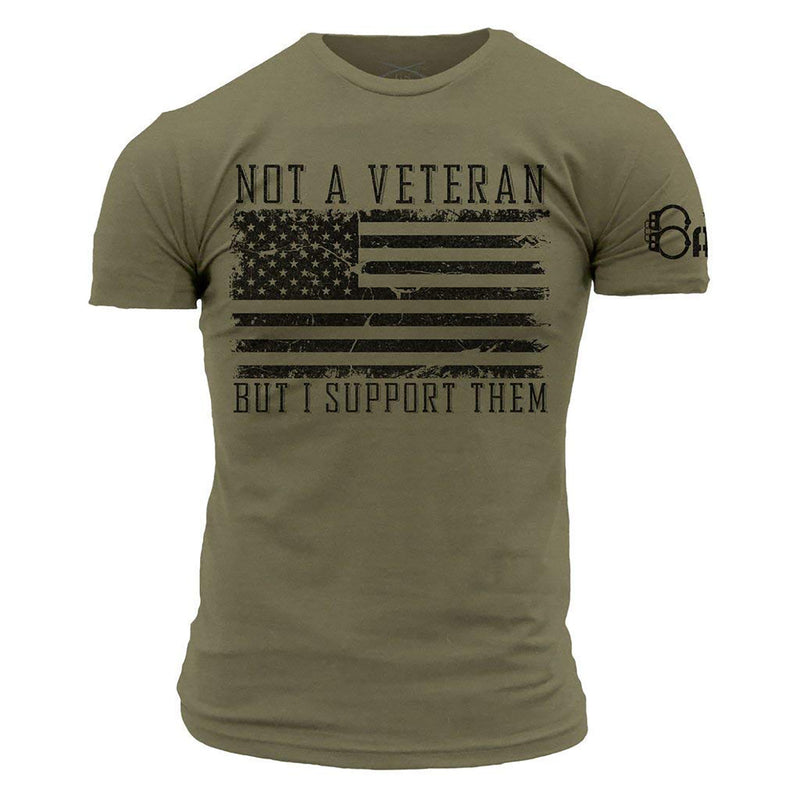 Grunt Style Officer Baker Not A Veteran Men's T-Shirt